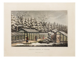 Forcing garden, in Winter Giclée-Druck von Humphry Repton