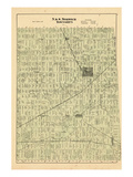 1876, Norwich Townships - North and South, Canada Giclee Print