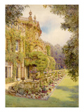 The House, Dyffryn Giclee Print by Edith Helena Adie