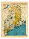 1954, Maine Giclee Print
