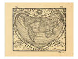 1561, World Giclee Print