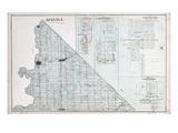 1878, Mosa Township, Napier, Adelaide, Glencoe, Kerwood, Canada Giclee Print