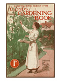 Lloyds Gardening Book cover Giclee Print