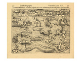 1550, World Giclee Print