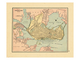 1891, Portland Maine Giclee Print