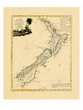 1778, New Zealand Giclee Print