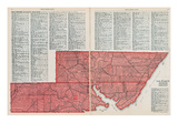 1928, Lots No. 20, 21 - Queens County, Canada Giclee Print