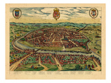 1590, Sevilla, Spain Giclee Print