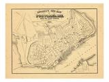 1869, Portland, Maine Giclee Print