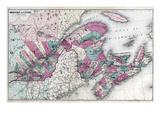 1878, Canada - Eastern Giclee Print