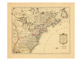 1783, United States, Canada Giclee Print