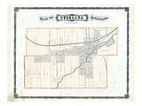 1878, Stirling, Canada Giclee Print