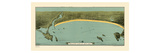 1884, Saco Bay, Maine Giclee Print
