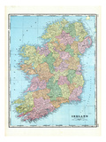 1906, Ireland Giclee Print