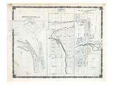 1879, Bridgend Place, Fordwich, Egmondville Village, Canada Giclee Print