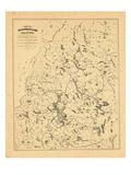 1879, Moosehead Lake, Maine Giclee Print