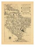 1562, South America Giclee Print