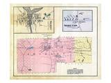 1882, Sebec Village, Sebec Cor, Shirley, Elliottsville, Maine, United States Giclee Print