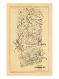 1895, Piscataquis County, Maine Giclee Print