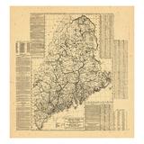 1910, Maine Giclee Print