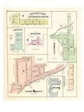 1877, Brownstown , Renton, Rockford, Vittoria, Port Rowan, Walsh, Portland, Canada Giclee Print