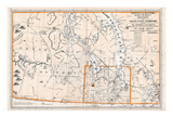 1879, Manitoba Province, Keewatin District and North West Territory, Canada Giclee Print