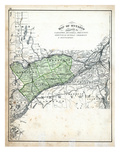 1879, Ontario Counties - Carleton, Russell, Prescott, Grenville, Dundas, Stormont Giclee Print