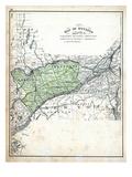 1879, Ontario Counties - Carleton, Russell, Prescott, Grenville, Dundas, Stormont Giclee Print