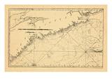 1791, Nova Scotia Giclee Print