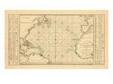 1806, Atlantic Ocean Giclee Print