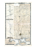 1878, Brighton Township, Smithfield, Canada Giclee Print