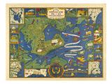 1928, Portland, Maine Giclee Print