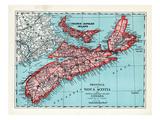 1928, Nova Scotia and Prince Edward Islalnd Province, Canada Giclee Print
