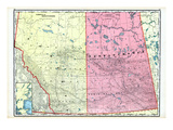 1906, Alberta and Saskatchewan, Canada Giclee Print