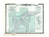 1878, Campbellford, Meyersburg, Menie, Trent Bridge, Canada Giclee Print