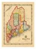 1860, Maine Giclée-Druck