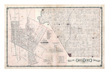 1879, Hullett Township, Clinton Town, Londesborough, Alma, Summer Hill, Canada Giclee Print