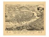 1879, Calais, Maine Giclee Print