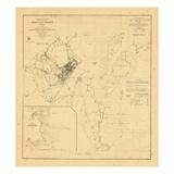 1859, Portland Harbor, Maine Giclee Print