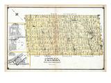 1906, Eramosa Township, Eden Mills Village, Everton Village, Canada Giclee Print