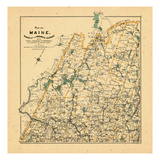 1909, Rangeley, Maine Giclee Print