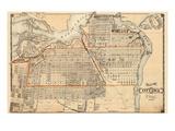 1879, Ottawa City, Canada Giclee Print