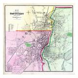 1870, Pawtucket Village, Rhode Island, United States Giclee Print