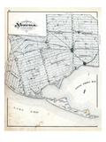 1879, Norfolk County Map, Canada Giclee Print