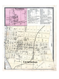 1875, Sanborn, Lewiston, New York, United States Giclee Print