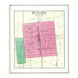 1892, Rutland, Illinois, United States Giclee Print
