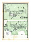 1906, Hillsburg Village, Erin Village, Canada Giclee Print