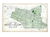 1879, Lincoln and Welland Counties Map, Canada Giclee Print