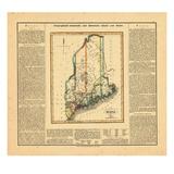 1826, Maine Giclee Print