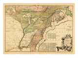 1775, British Colonies, New Brunswick, United States Giclee Print